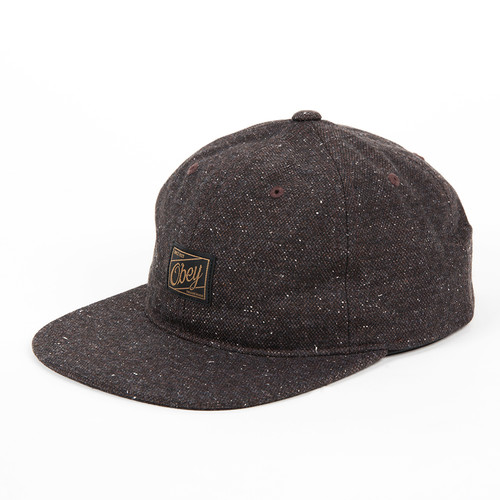 Бейсболка OBEY Bangor Hat (Brown, O/S) бейсболка obey washington 5 panel olive o s