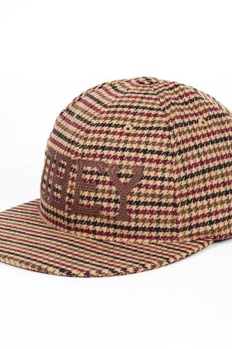цена на Бейсболка OBEY Hank Hat FW14 (Brown, O/S)