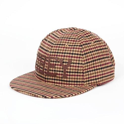 лучшая цена Бейсболка OBEY Hank Hat FW14 (Brown, O/S)