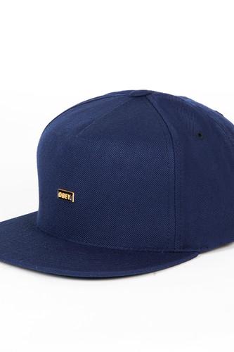 лучшая цена Бейсболка OBEY Standard Hat (Navy, O/S)
