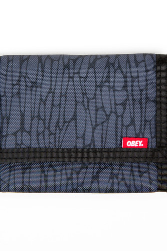 Кошелек OBEY Quality Dssnt Trfld Wlt (Graphite)