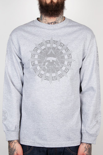 Лонгслив CROOKS & CASTLES Killuminati 2 (Heather Grey, L) лонгслив crooks