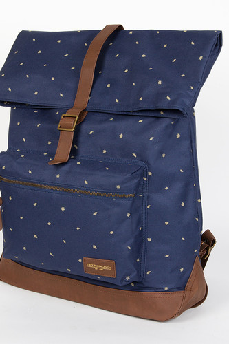 Сумка OBEY Milton Roll Top Backpack (Indigo)