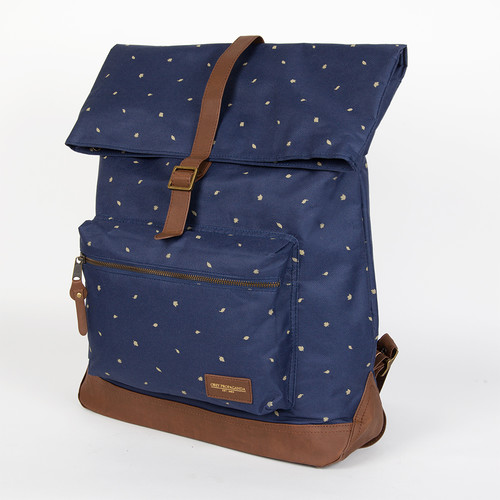 Сумка OBEY Milton Roll Top Backpack (Indigo) майка obey high and mighty ginger mood indigo m