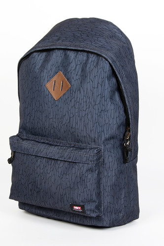 Сумка OBEY Quality Dissent Back Pack (Graphite)