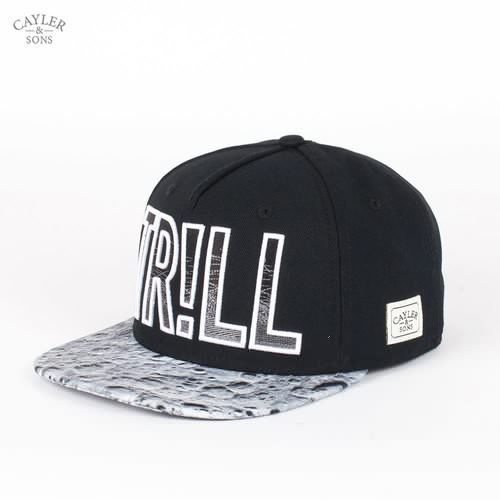 Бейсболка CAYLER & SONS Trill Cap (Black-Moon-White, O/S) плитка стеклокерамическая endever skyline dp 50