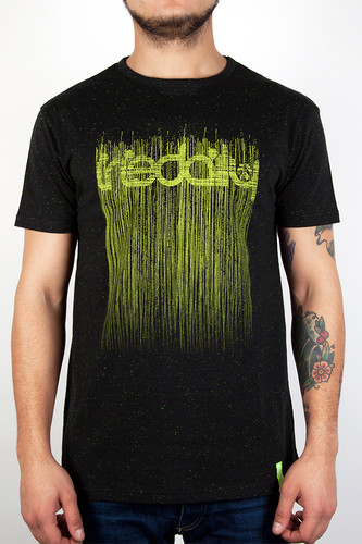 Футболка IRIEDAILY Space La Matter Tee (Black Melange-714, L) футболка iriedaily come to daddy tee forest melange 441 l