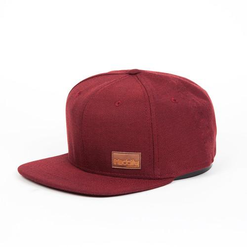 Бейсболка IRIEDAILY Patch Snap Cap (Maroon Melange-296, O/S) толстовка iriedaily irie college hooded maroon melange 296 l