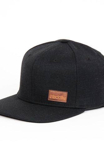 Бейсболка IRIEDAILY Patch Snap Cap 2 (Black Melange-714, O/S)