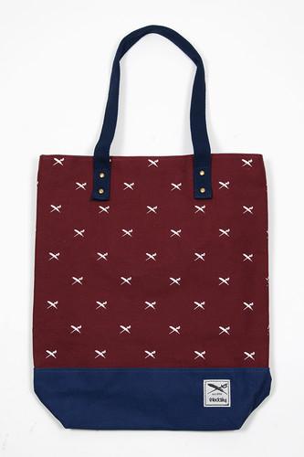 цена на Сумка IRIEDAILY Flag X Shopper (Bordeaux-229)