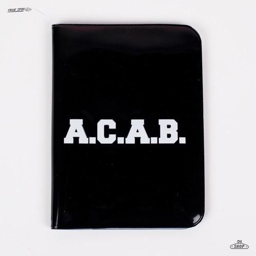 цена на Обложка TRUESPIN A.C.A.B. (Black)
