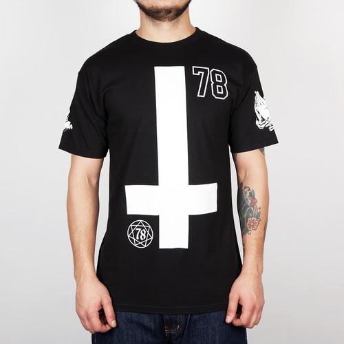 Футболка MISHKA Death Omen Tee (Black, XL) футболка mishka paralyzed tee black m