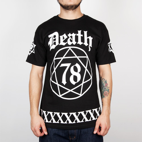 Футболка MISHKA Death Ritual 78 Tee (Black, L) футболка mishka cyco thrasman tee black l