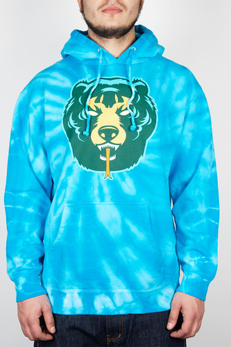 Толстовка MISHKA Death Adder Pullover Hoodie (Turquoise, XL) толстовка mishka kirby camo keep watch pullover hoodie black m