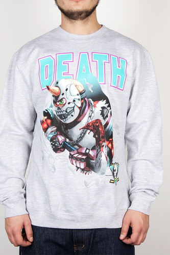 цена на Толстовка MISHKA Slapshot Crewneck (Heather Grey, XL)