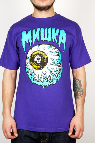 Футболка MISHKA Lamour Keep Watch Ii Tee (Purple, L) футболка globe bantam girl ii tee rosebrown