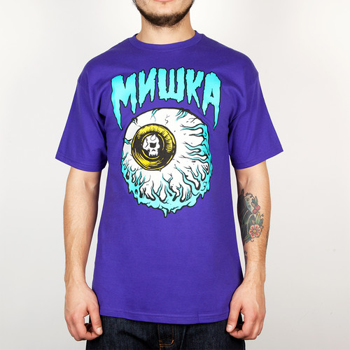 Футболка MISHKA Lamour Keep Watch Ii Tee (Purple, L) цена и фото