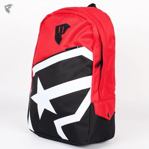 Рюкзак FAMOUS Boh Zip Backpack (Red-Black-White) мебель black red white