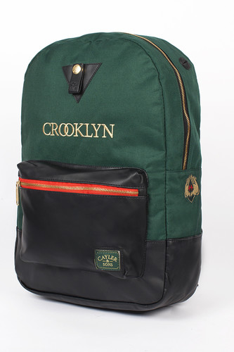 Рюкзак CAYLER & SONS Crooklyn Uptown Backpack (Green/Black/Red Woodland)