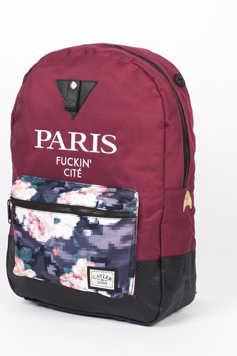 Рюкзак CAYLER & SONS Le Parisien Uptown Backpack (Maroon/Digi Roses/Snake Leather)
