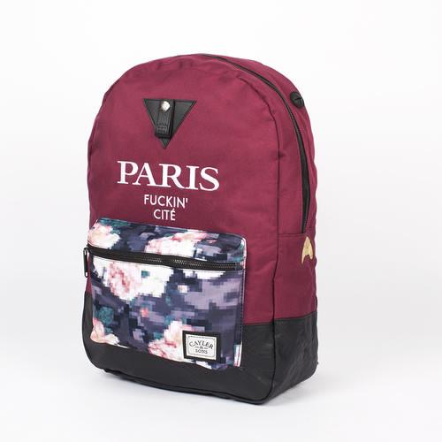 Рюкзак CAYLER & SONS Le Parisien Uptown Backpack (Maroon/Digi Roses/Snake Leather)