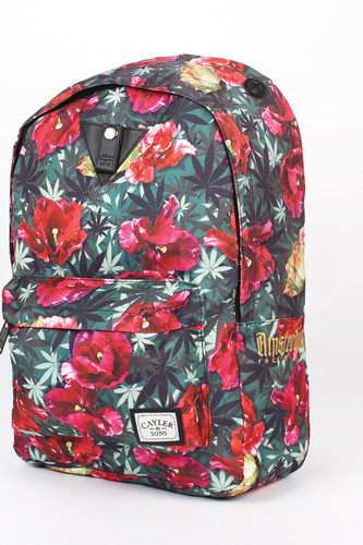 цена на Рюкзак CAYLER & SONS A-Dam Downtown Backpack (Tulip Camo/Red Stripes)