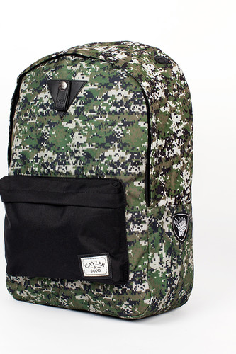 Рюкзак CAYLER & SONS Marcy Downtown Backpack (Digi Camo/Black Denim)