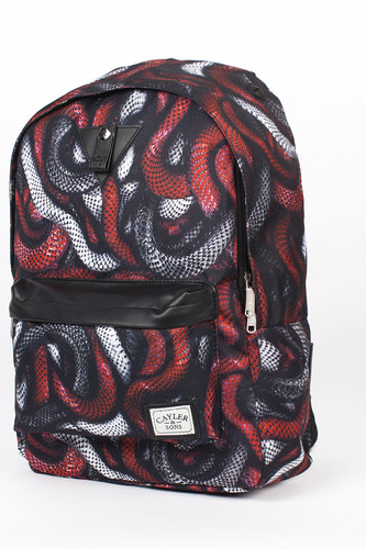 Рюкзак CAYLER & SONS Milano Downtown Backpack (Red Snakes/Black) рюкзак cayler
