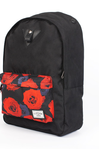 Рюкзак CAYLER & SONS Roses Downtown Backpack (Black/Red Roses)