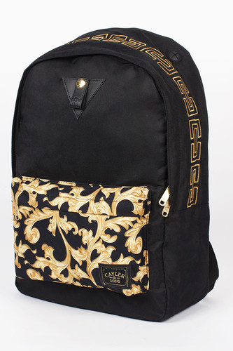 Рюкзак CAYLER & SONS Migos Downtown Backpack (Black/Yellow Ornaments)