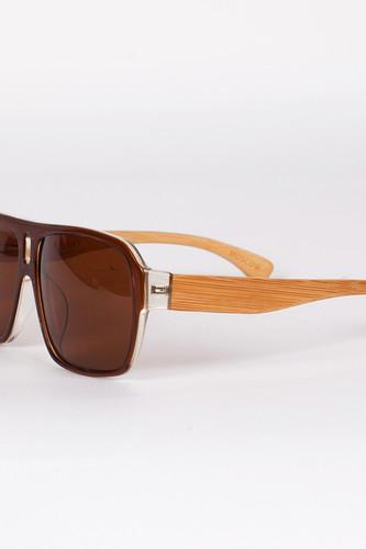 Очки SPUNKY Bamboo Mercury (Brown) очки rudy project exception demi turtle gloss action brown