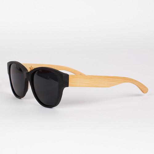 Очки SPUNKY Bamboo Venus (Black-Mate)