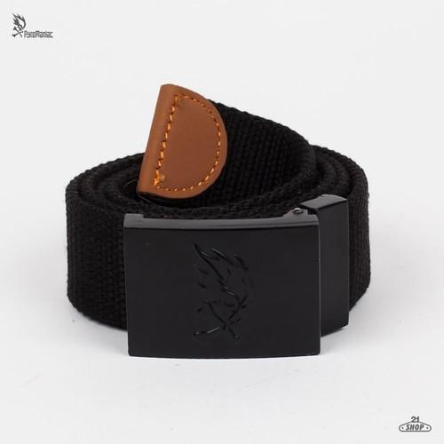 Ремень PYROMANIAC Operator Belt (Black, O/S) black elastic metal leather belt