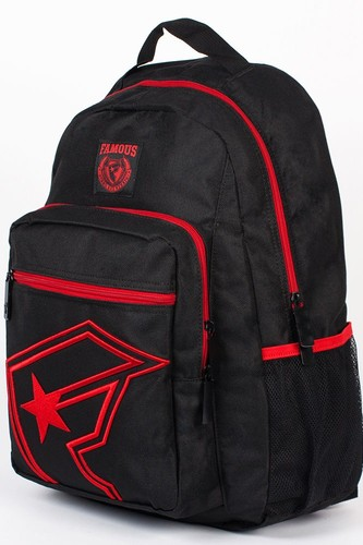 Рюкзак FAMOUS The One Backpack (Black-Red)