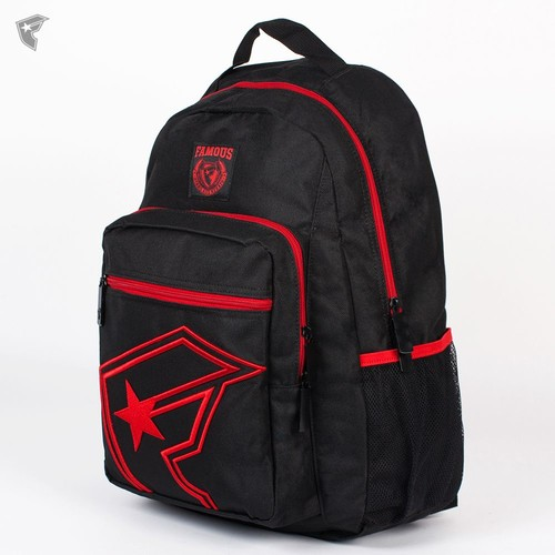 Рюкзак FAMOUS The One Backpack (Black-Red) цена и фото