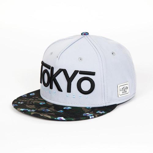 Бейсболка CAYLER & SONS Nigiri Cap (Grey/Blossom Camo/Black, O/S)