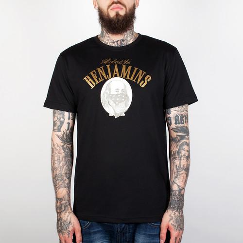 Футболка CAYLER & SONS Benjamins Tee (Black/Gold, 2XL) футболка cayler