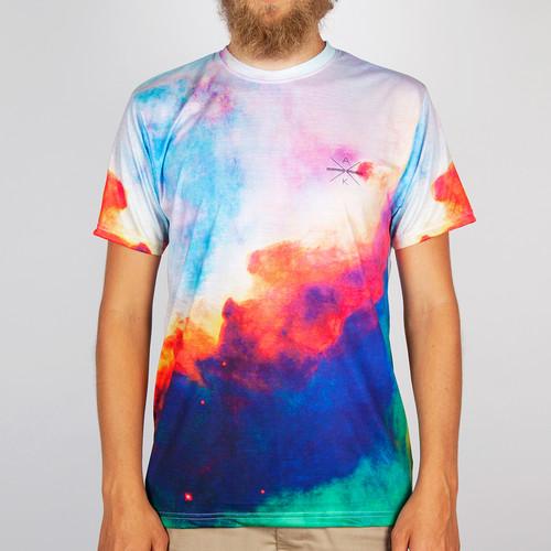 Футболка AKOMPLICE Nebula Tee (Multi, XL) майка akomplice nebula tank multi xl