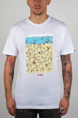 Футболка AKOMPLICE Nudist Spread (White, XL)