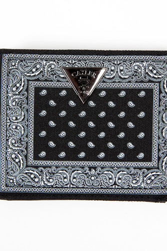 Кошелек CAYLER & SONS Never Polite Wallet (Black/Paisley/White)