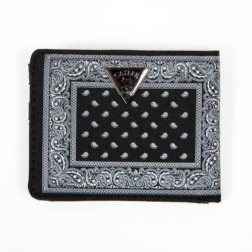 Кошелек CAYLER & SONS Never Polite Wallet (Black/Paisley/White)
