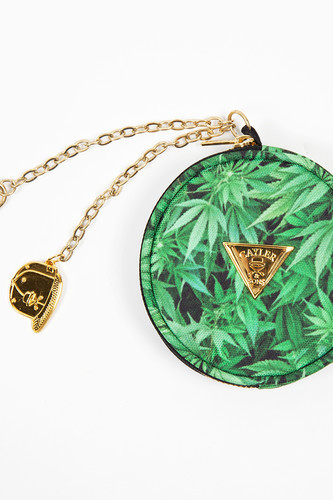 Кошелек CAYLER & SONS Kush Coin-pouch (Green Leaves/Gold)
