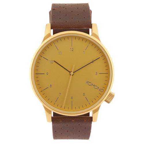 Часы KOMONO Winston (Gold)