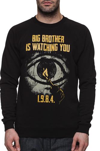 Фото - Толстовка HATE Big brother (Черный, L) hate squad hate squad katharsis