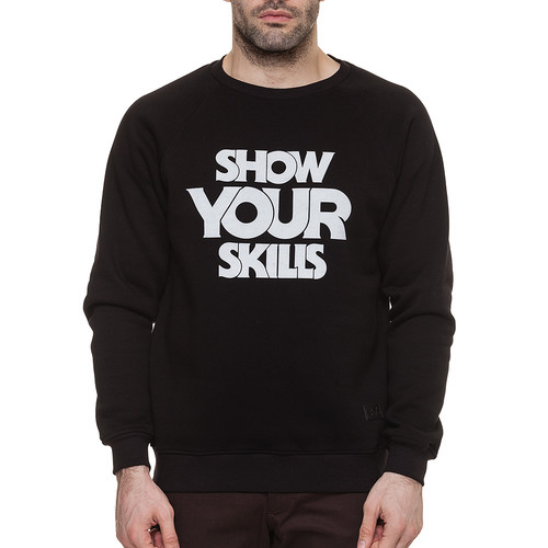 Толстовка SKILLS Your Skills Crewneck (Black, XL)