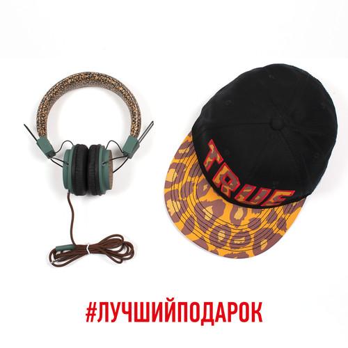 Пак Бейсболка + Наушники TRUESPIN Leopard (Multi) наушники truespin basic headphone yellow