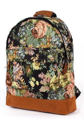 Рюкзак MI-PAC Premium Floral Tapestry (Black Tapestry-274)