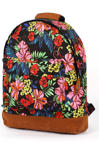 Рюкзак MI-PAC Premium Floral (Tropical Neon Black)