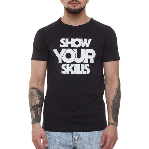 Футболка SKILLS Show You Skills raglan (Black, XL)