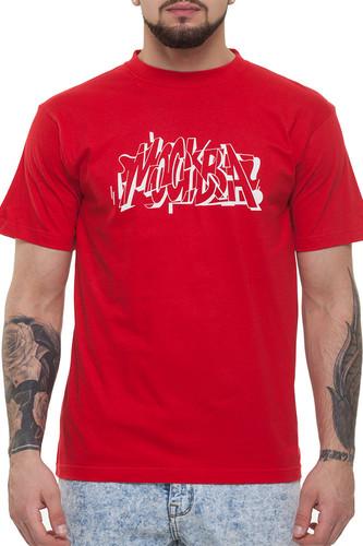 Футболка CODERED x SAM Москва (Красный, M) футболка codered t glyphglitch logo красный xs